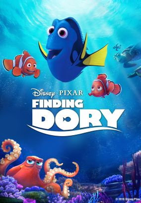 Finding Dory / Walt Disney Pictures presents a Pixar Animation Studios film &#59; directed by Andrew Stanton &#59; co-directed by Angus MacLane &#59;