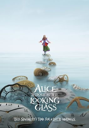 Alice through the looking glass / Walt Disney Pictures presents &#59; a Roth Films/Team Todd/Tim Burton production &#59; produced by Joe Roth, Suzanne