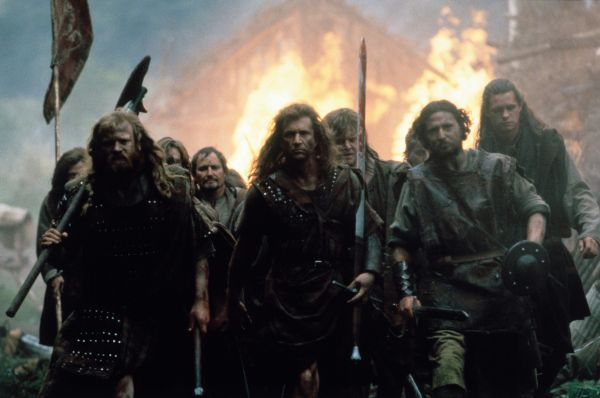 an analysis of historicism and nationalism in brave heart by mel gibson Mel gibson's movie braveheart cells the story of the life of william wallace, one  of  take mercy on the rest6 gibson's interpretation of the wallace legend picks .