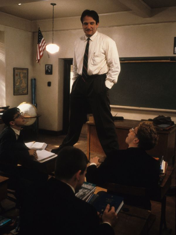 the theme of educatio nad teaching strategies in ihe movie dead poets society Teaching philosophy (the hangover and dead poets society)  education song 02 theme from jurassic park from jur - universal pictures film music  dead poets society youtube movies.