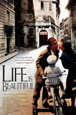 life is beautiful a summary Guido, a jewish waiter in 1930's italy, manages a successful romance with the  help of his love of life and wacky sense of humor, even though the woman of his.