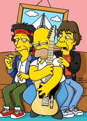 The Simpsons: How I Spent My Strummer Vacation