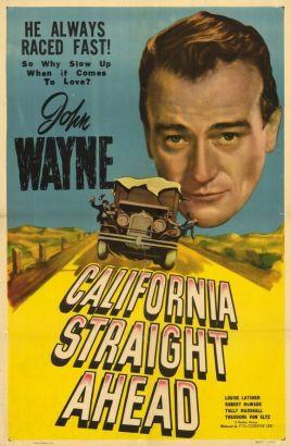 California Straight Ahead