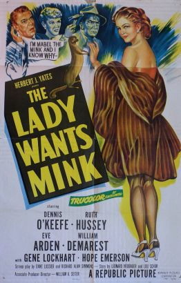 The Lady Wants Mink