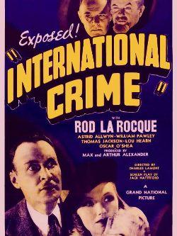 International Crime
