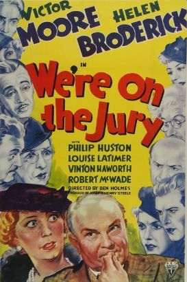 We're on the Jury