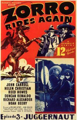 Zorro Rides Again [Serial]