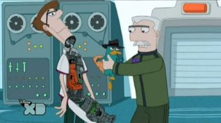 Phineas and Ferb: I Was a Middle-Aged Robot