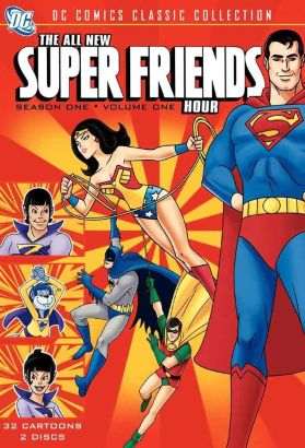The All New SuperFriends Hour [Animated TV Series]