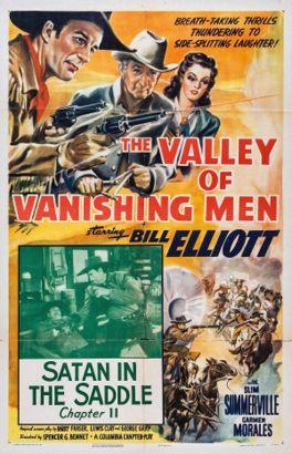 The Valley of Vanishing Men [Serial]