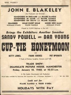 Cup-Tie Honeymoon