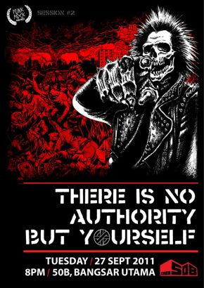 Crass: There Is No Authority But Yourself