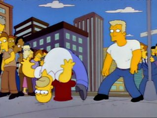 The Simpsons: Brother From the Same Planet