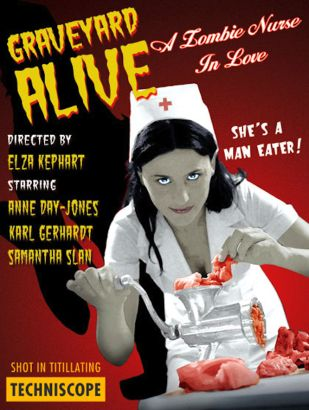 Graveyard Alive: A Zombie Nurse In Love