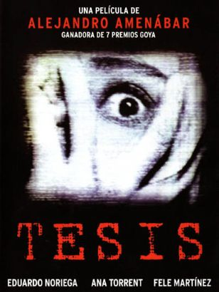 thesis trailer amenabar The others (spanish: los otros) is a 2001 english-language spanish supernatural gothic horror film with elements of psychological horror it was written, directed, and scored by alejandro amenábar it stars nicole kidman and fionnula flanagan the film won eight goya awards, including awards for best film and best.