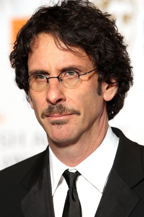 The 62-year old son of father Edward Coen and mother Rena Coen, 183 cm tall Joel Coen in 2017 photo