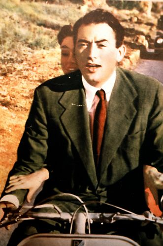 a biography of gregory from rome Oscar winner gregory peck sits down for a chat as candid as it is absorbing,  arrested in rome for a drug-related offense,.