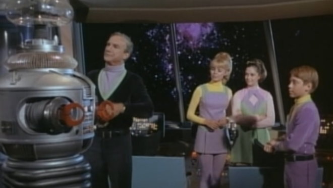 Lost in Space: The Flaming Planet