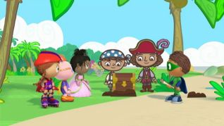 Super Why!: The Beach Day Mystery