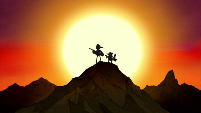 Regular Show: Mordecai and the Rigbys