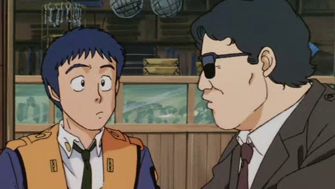 Patlabor: The Mobile Police - The TV Series: 9. Red Labor Landing