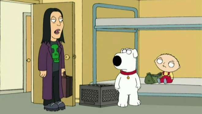 Family Guy: Brian Goes Back to College