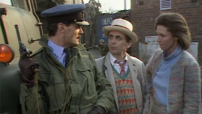 Doctor Who: Remembrance of the Daleks, Episode 1