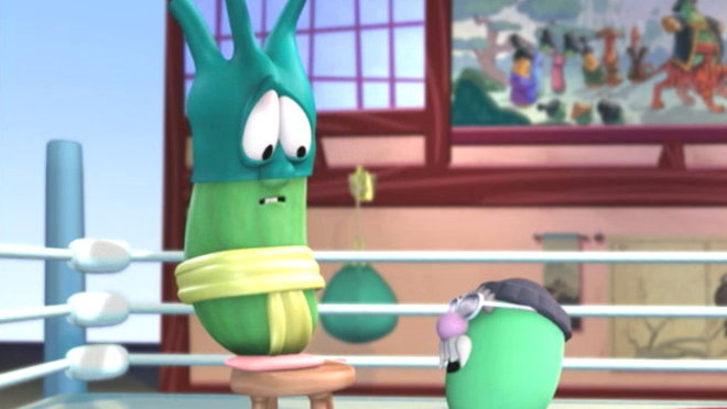 Veggie Tales: Sumo of the Opera - A Lesson in Perseverance