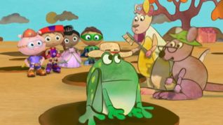 Super Why!: Tiddalick the Frog