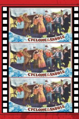 Cyclone in the Saddle