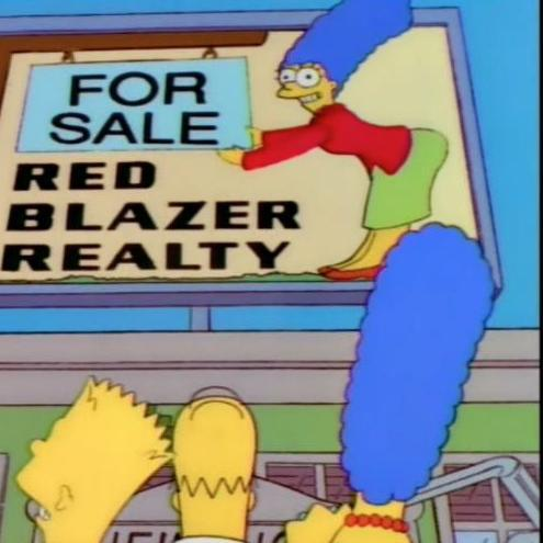 The Simpsons: Realty Bites