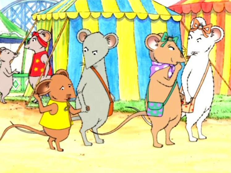 Angelina Ballerina: Angelina at the Fair