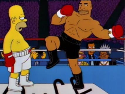 The Simpsons: The Homer They Fall