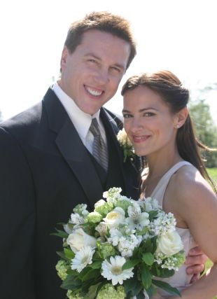 Lochlyn Munro with Żona Sharon Munro