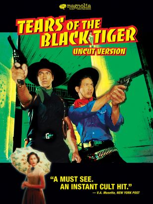 a plot summary of tears of the black tiger Tears of the black tiger is a 2000 thai action-adventure film written and directed  by wisit sasanatieng the story of a tragic romance between dum, a fatalistic,.