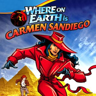 Where on Earth Is Carmen Sandiego? [Animated TV Series]