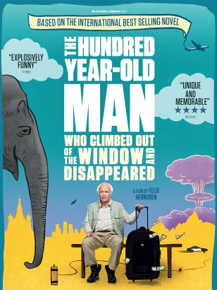 The 100 year-old man who climbed out the window and disappeared / Buena Vista International Sweden and Nice FLX Pictures presents &#59; a film by Feli