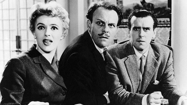 The green man 1956 robert day review allmovie for Farcical related forms