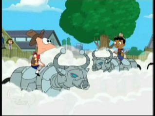 Phineas and Ferb: Robot Rodeo