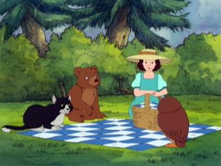 Little Bear: Picnic on Pudding Hill