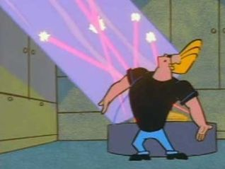 Johnny Bravo: Did You See a Bull Run By Here?