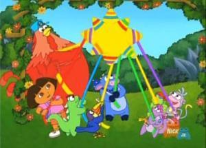 Dora the Explorer: The Festival of the Big Piñata
