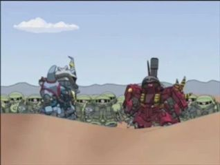 SD Gundam: Gundam Force, Team Up