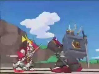 SD Gundam: Ashuramaru: The Old Rival Returns