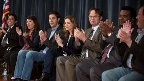 Jenna fischer biography movie highlights and photos allmovie - The office season 9 finale ...