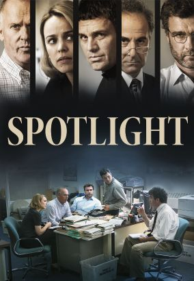 Spotlight / directed by Tom McCarthy &#59; written by Josh Singer & Tom McCarthy &#59; produced by Michael Sugar, Steve Golin &#59; produced by Nicole