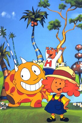 Maggie and the Ferocious Beast [Animated TV Series]