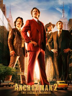 Anchorman. 2 : the legend continues / Paramount Pictures presents a Gary Sanchez/Apatow production &#59; director, Adam McKay &#59; writers, Will Ferr