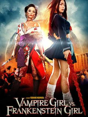 Vampire Girl vs Frankenstein Girl