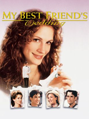 a review of my best friends wedding a film by pj hogan Topics podcast, book versus movie, margo donohue, my best friends wedding, cameron diaz, julia roberts, pj hogan, 1997 movies, 90s movies, romantic comedies, margo donohue of the book vs movie podcast returns to help patrick break up a wedding.